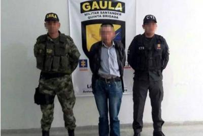 Dos presuntos guerrilleros fueron enviados a la cárcel en Santander