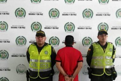 Capturan sujeto que habría amenazado de muerte a su pareja en Bucaramanga