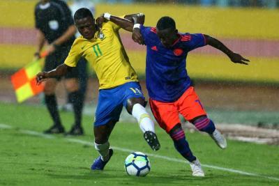 Brasil y Colombia empataron 2-2 en segundo partido amistoso