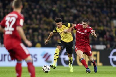 Sin James en la cancha, Bayern perdió ante Borussia Dortmund