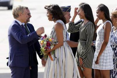 Michelle Obama reveló que se sometió a fecundación in vitro