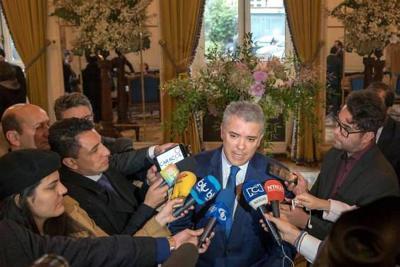 """""""Los asesinatos de líderes sociales no quedarán en impunidad"""": Duque"""
