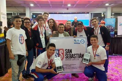 Bucaramanga arrasó en el Décimo Torneo Nacional de Robótica Vex