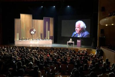 Alberto Donadio Copello recibió el premio vida y obra de un periodista