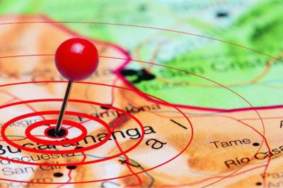 Fuerte sismo se sintió este viernes en Bucaramanga y el área