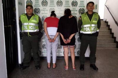 Las 'mecheras', de 28 y 32 años, tenían detención domiciliaria.