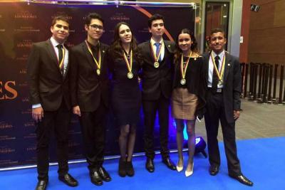 Cinco estudiantes de Santander ganaron el premio Andrés Bello