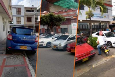 Ciudadanos siguen denunciando invasión del espacio público en diferentes puntos de Bucaramanga