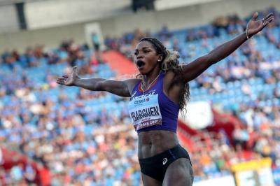 Caterine Ibargüen, la mejor atleta del mundo de 2018
