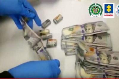 Red de tragabilletes lavaba dinero para capos mexicanos