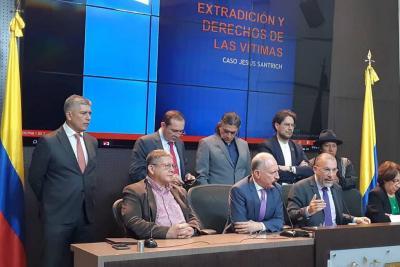Comisión de Paz del Senado pide no extraditar a Jesús Santrich