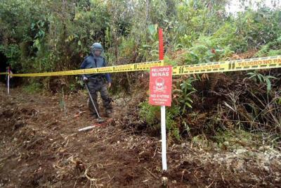 Aumentaron las víctimas de minas antipersona durante 2018