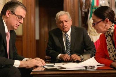 Presidente de México presentó a Trump un ambicioso plan migratorio