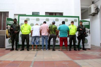 Desarticulan banda de alias 'El Bacán' en Santander