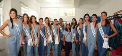 Candidatas al Concurso Nacional de Belleza calzan zapatos hechos en Bucaramanga