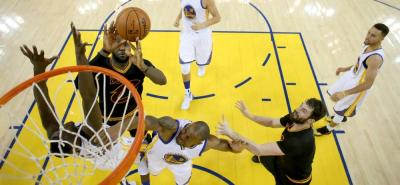 Vea las mejores imágenes del título de los Cleveland Cavaliers