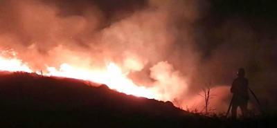 Alarma por incendios forestales en Santander