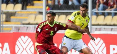 Estas son las mejores imágenes del juego entre Colombia y Venezuela