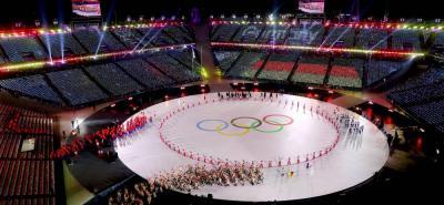 Así transcurrió la ceremonia de apertura de los JJOO de Invierno PyeongChang 2018