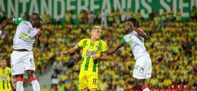 Imágenes de la derrota 2-1 del Atlético Bucaramanga ante el Once Caldas