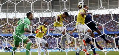 Las mejores imágenes del encuentro entre Colombia y Japón