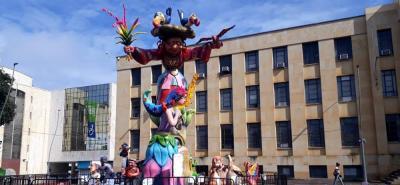 Del 7 al 23 de septiembre, un colorido monumento adornará la plaza Cívica Luis Carlos Galán.