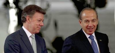 Colombia y México firmaron acuerdo para fortalecer la lucha contra el narcotráfico.