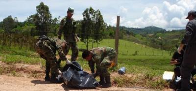 Abatido el responsable de la muerte del capitán Víctor Hugo Valencia Calderón, comandate del Grupo de Antiexplosivos