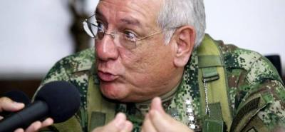 El comandante de las Fuerzas Militares de Colombia aseguró que las Farc siguen en territorio venezolano.