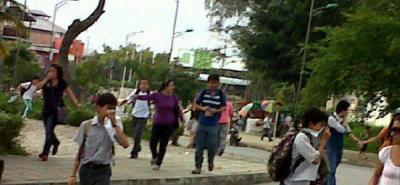 Estudiantes y Esmad protagonizan disturbios en la UIS