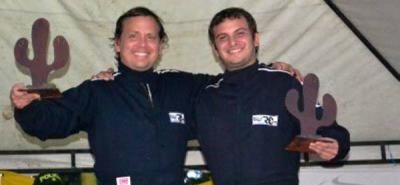 Los hermanos Juan Camilo y Carlos Felipe Gutiérrez Camacho, de Cali