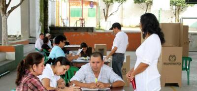 Hasta el 3 de octubre los partidos políticos podrán presentar a la Registraduría la lista de ciudadanos que actuarán como testigos electorales