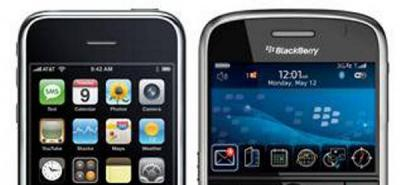 Continúa la competencia entre Iphone y Blackberry