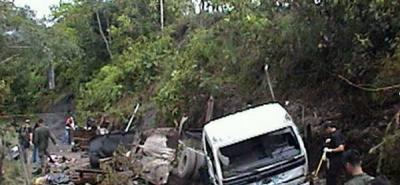 Atentado contra trabajadores de petrolera deja 6 heridos y 1 muerto