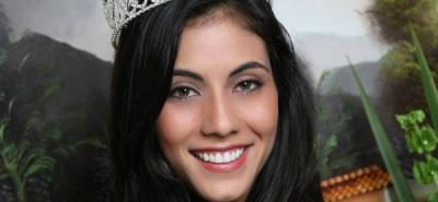 Andrea Liseth Tavera Sanabria, señorita Santander 2011 - 2012.