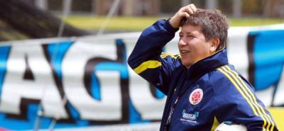Gómez se encuentra en Bogotá como integrante de la comisión técnica de la Fifa en el Mundial Sub 20.