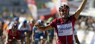 Freire (Rabobank) vuelve a competir en la Vuelta a España.