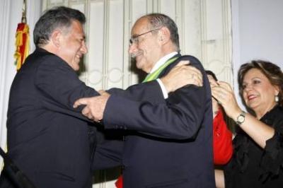 El Gobernador de Santander respaldó la gestión del Fernando Vargas Mendoza en la Alcaldía.