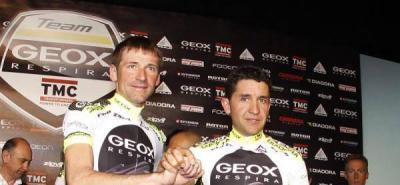 Los colombianos Ardilla y Fabio Duarte correrán con el Geox la Vuelta a España