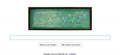 Google rinde tributo al último teorema del matemático Fermat
