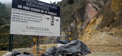 El principal proyecto de la compañía, llamado Angostura, está siendo reformulado para sacarlo de la zona de páramo.