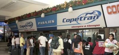 Se mantienen suspendidos los despachos de Copetrán en el país.