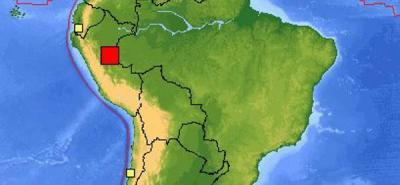 Según el Servicio Geológico de Estados Unidos, Usgs (en inglés), algunas comunicaciones telefónicas se vieron interrumpidas por el fenómeno.