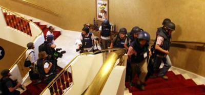 Liberados 35 periodistas extranjeros en Libia