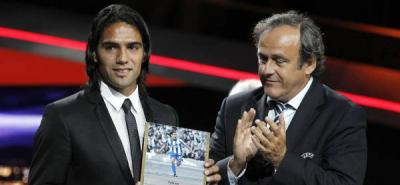 Falcao fue la estrella del sorteo en la Liga Europa