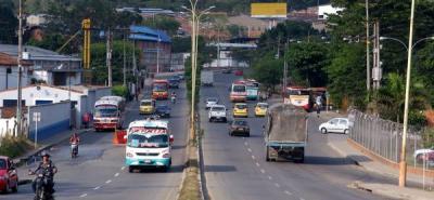 Cierres viales entre Bucaramanga y Girón