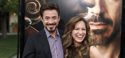 La esposa de Robert Downey Jr. espera su primer hijo en común