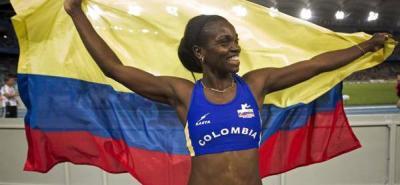 La atleta Caterine Ibargüen ganó bronce en el mundial