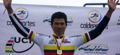 Marvin Angarita, nuevo campeón nacional de ruta