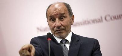 El jefe del CNT libio llegó a Tripoli